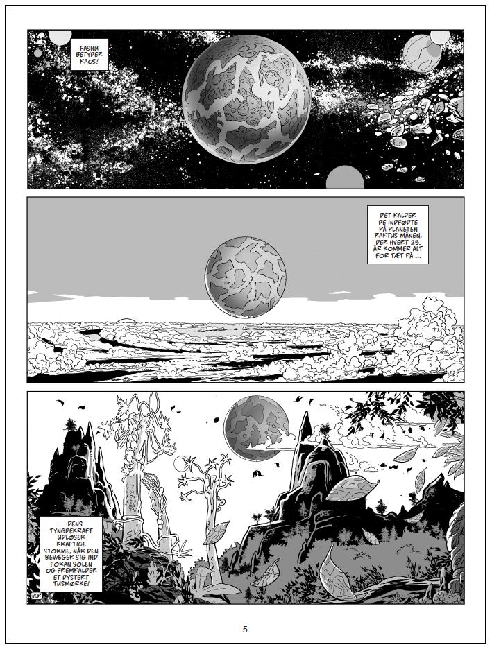 tegneserie med Chili Gomobo side fra Rugemødrene på Raktus af Rene Birkholm azobebooks.com