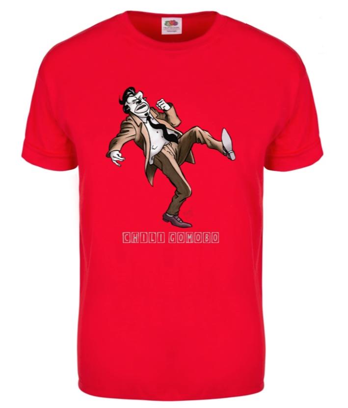 T shirt chili gomobo frans xl size azobebooks for Vista print tee shirt