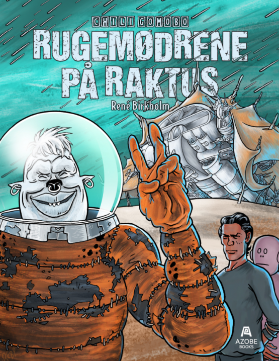 Tegneserien Rugemødrene på Raktus af Rene Birkholm