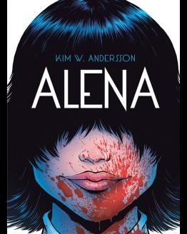 tegneserie Alena Kim W. Andersson azobe books