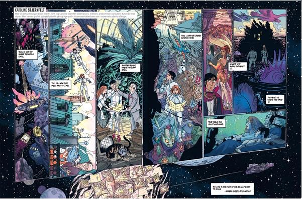tegneserie Ekstraordinære rejser i tid og rum azobe books