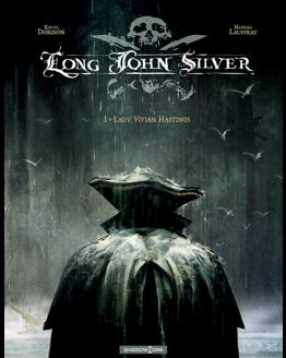 tegneserie Long John Silver 1 azobe books