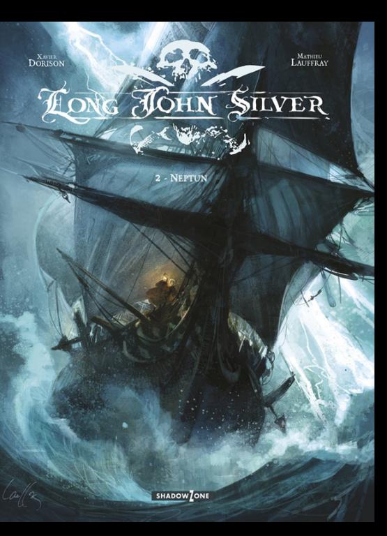 tegneserie Long John Silver 2 azobe books