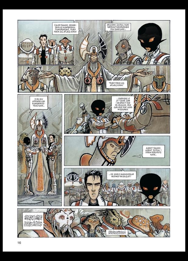 tegneserie Orbital 1: Nærkontakt azobe books