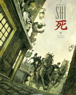tegneserier SHI 1 i begyndelsen var vreden azobe books