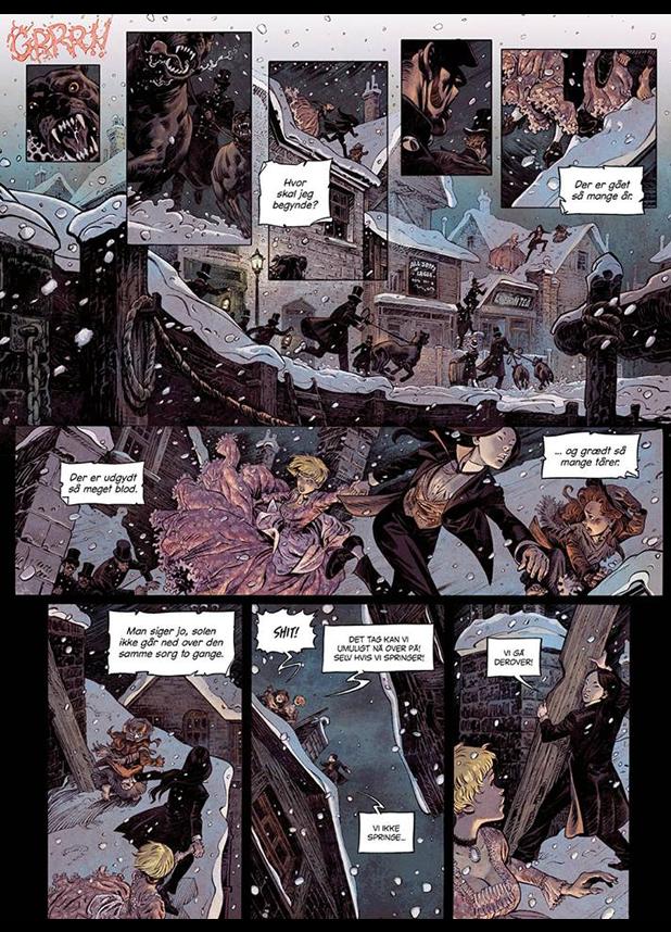 tegneserier SHI: 1 i begyndelsen var vreden azobe books