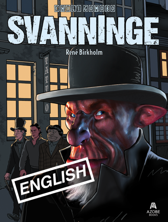 Comic book Svanninge, Chili Gomobo #2 by René Birkholm
